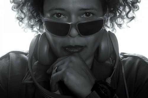 DJ Hildegard - Foto by Kerstin Niemöller